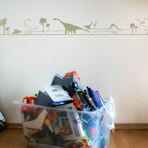 wandtattoo dinosaurier bord re wandbilder f r kindgerechtes wohnen im kinderzimmer bei danaraum. Black Bedroom Furniture Sets. Home Design Ideas