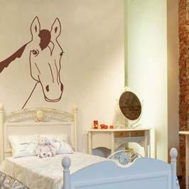 wandtattoo pferd wandbilder f r kindgerechtes wohnen im. Black Bedroom Furniture Sets. Home Design Ideas