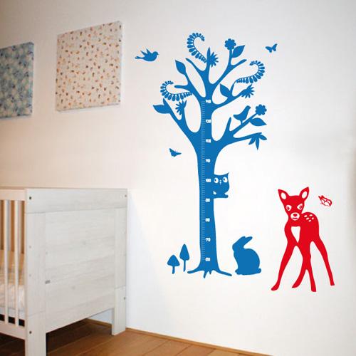 wandtattoo rehkitz wandbilder f r kindgerechtes wohnen. Black Bedroom Furniture Sets. Home Design Ideas
