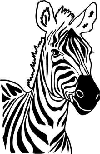 Wandtattoo zebra reuniecollegenoetsele - Wandtattoo afrika tiere ...