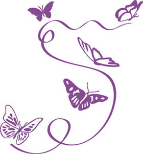 Wandtattoo Schmetterlinge Wandbilder Fur Kindgerechtes Wohnen Im